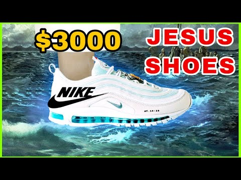 Jesus Shoes containing holy water selling for £3,000