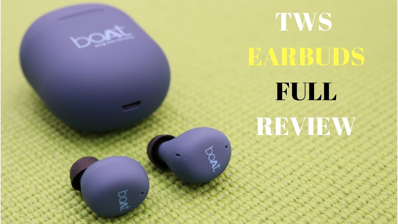 Boat Airdopes 381 Review True Wireless Earbuds With Hd Sound Water And Sweat Resistance Youtube