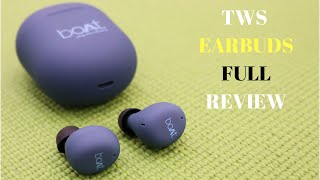boAt Airdopes 381 review – True wireless earbuds With HD Sound, Water and Sweat Resistance