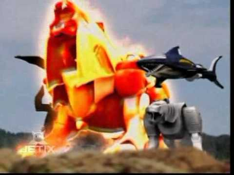 power-rangers-wild-force---pegasus-megazord-transformation