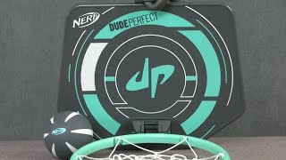 Nerf Sports Dude Perfect PerfectShot Hoops from Hasbro