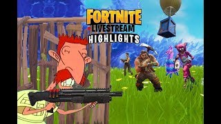 Fortnite Livestream Highlights | Aim of Truth | Epic Killstreak