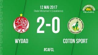 اهداف مباراة الوداد 2-0 القطن 01-07-2017 دوري أبطال أفريقيا