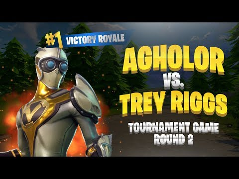 Agholor VS Trey Riggs - Tourney Game Round 2 - Insane Fortnite Battle Royale Gameplay