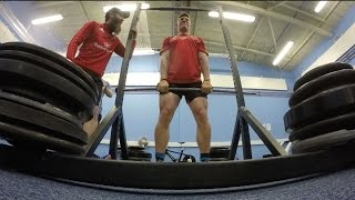 Munster Rugby Agility, Speed And Power Testing