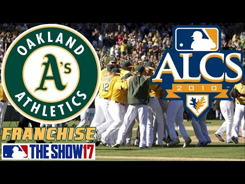 ALCS vs Cleveland - MLB The Show 17 - Franchise Mode - Oakland ep. 13
