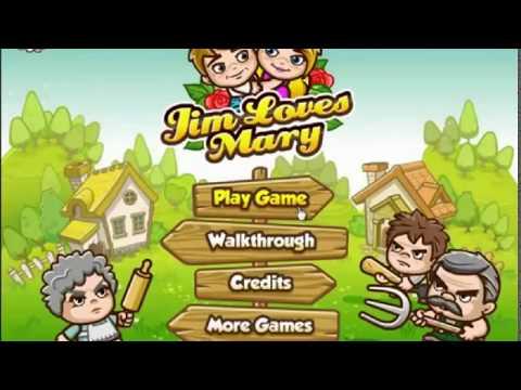 Игра Джим любит Мэри 1 - прохождение