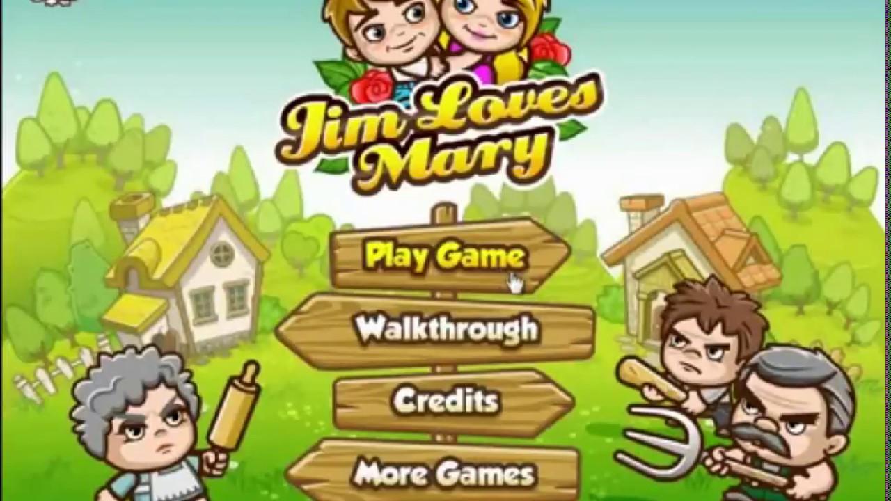 Джим любит Мэри