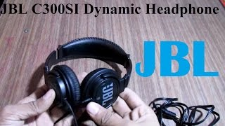 JBL C300SI Dynamic Wired Headphone Unboxing & Review | #7startech