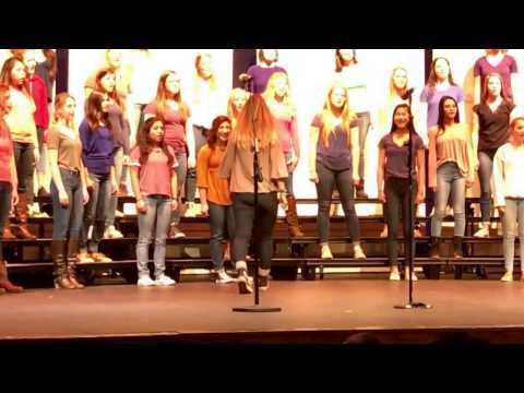 7:30 show - Brave -Hudson High School Choir Concert - Chanteuse- 3/20/2017