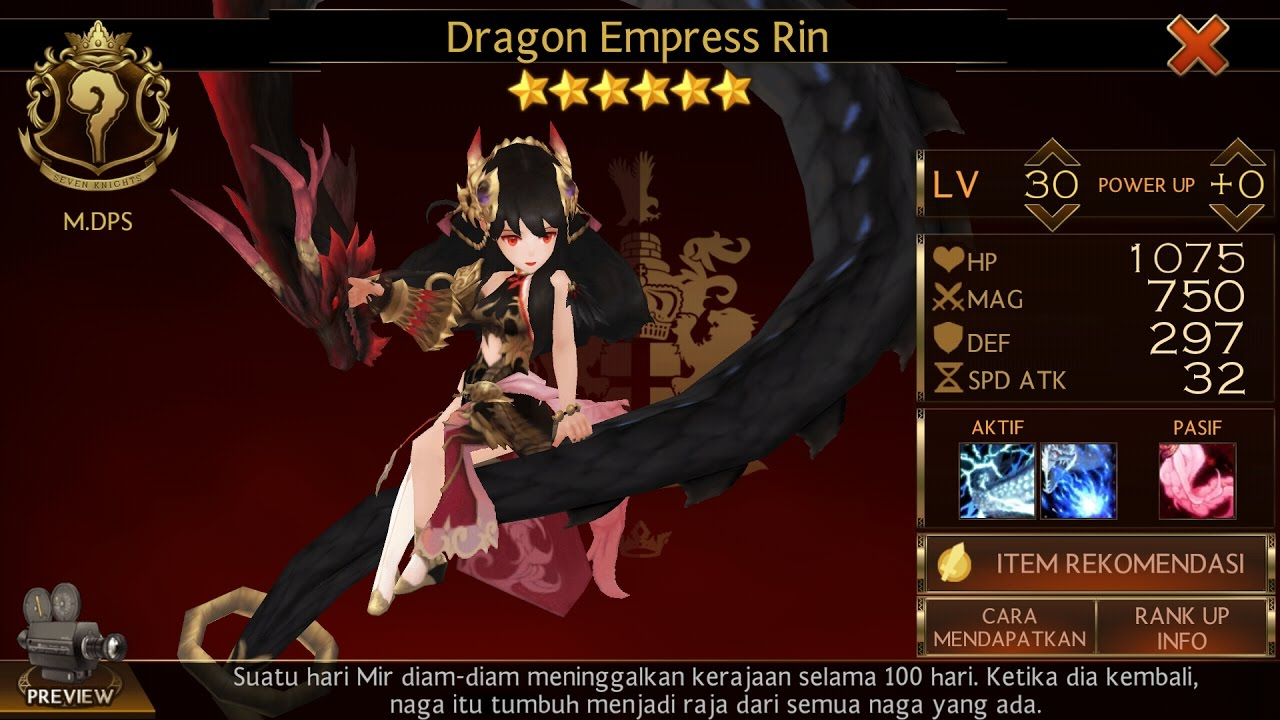 How To Get Rin Seven Knight Only 250 Ruby S Youtube