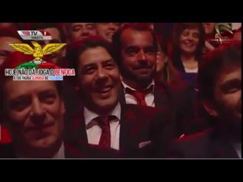 Luís Franco Bastos na gala do Sport Lisboa e Benfica