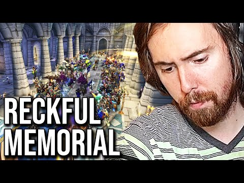 Asmongold \u0026 WoW Community Pay Respect To Reckful - Death Memorial (1989 - 2020)