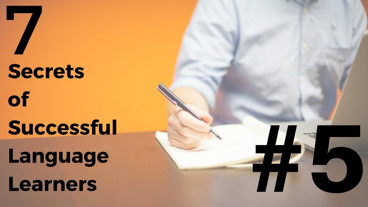 Language Learning - 7 Secrets of Success: #5 Be Patient