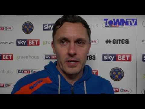 INTERVIEW | Paul Hurst post Bury (H) - Town TV