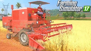 Bizon w polu - Farming Simulator 17 [PLATINUM] | #4
