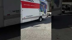 Asheville moving company at U-Pack ABF terminal Hickory North Carolina