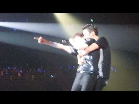 130602 SS5 INA Jakarta - Super Junior - dancing out (Wonkyu moment, ...