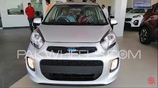 Kia Picanto 2019 | First Look Review | Walk-around | PakWheels