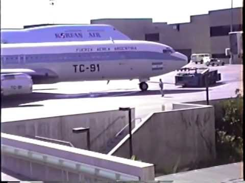 Argentina Air Force Boeing 707-387C at LAX