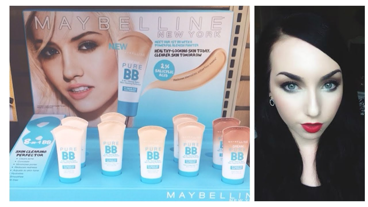maybelline dream pure bb cream how to use