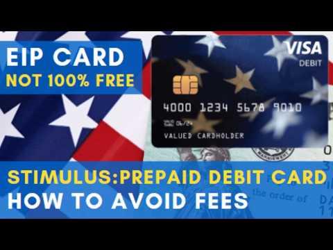 STIMULUS: EIP DEBIT CARD - How To AVOID FEES & HIDDEN COSTS. Why Keep It? Visa Prepaid Debit Card