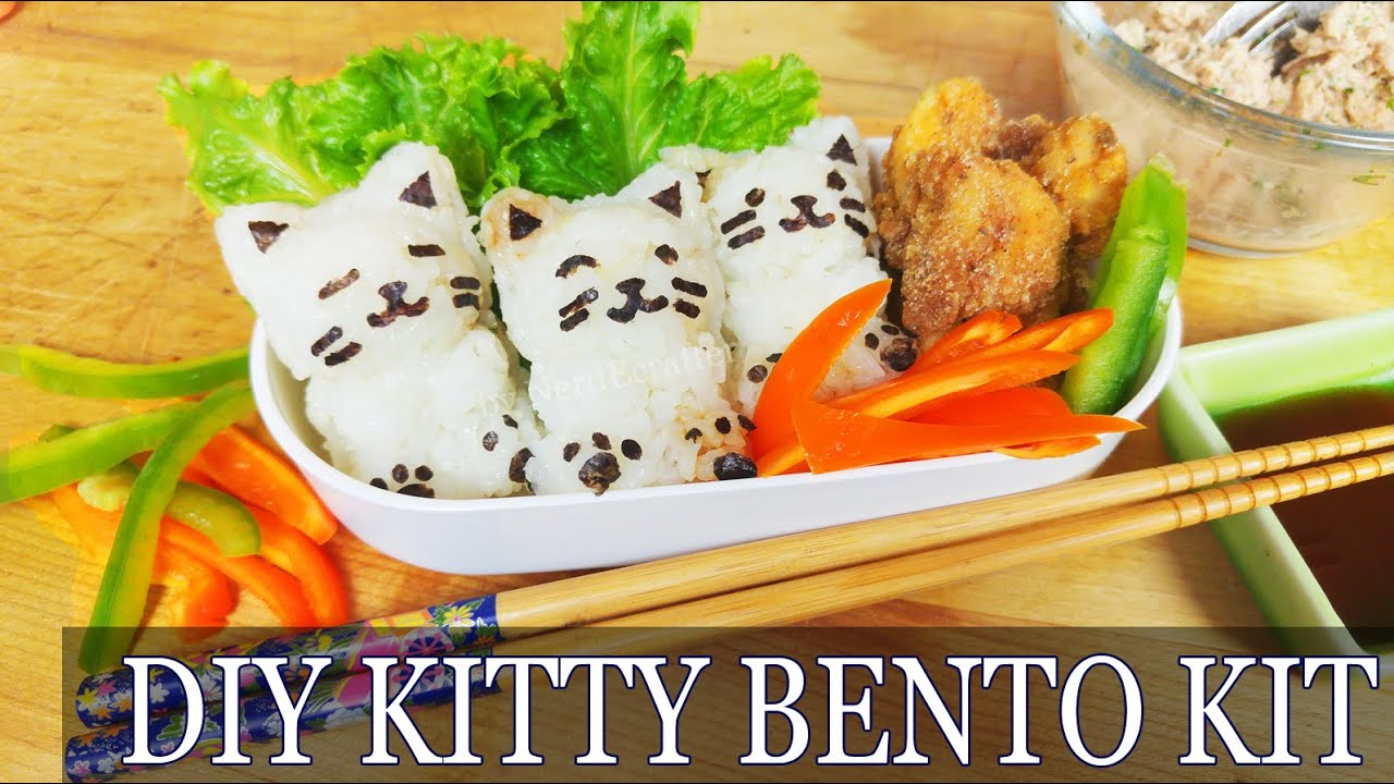 Asmr cooking diy cat bento kit how to make cute japanese onigiri asmr cooking diy cat bento kit how to make cute japanese onigiri easy karaage food recipe youtube forumfinder Gallery