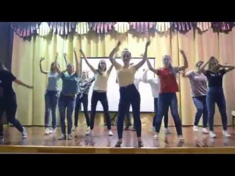 Yellow team takes us on an African dance safari!