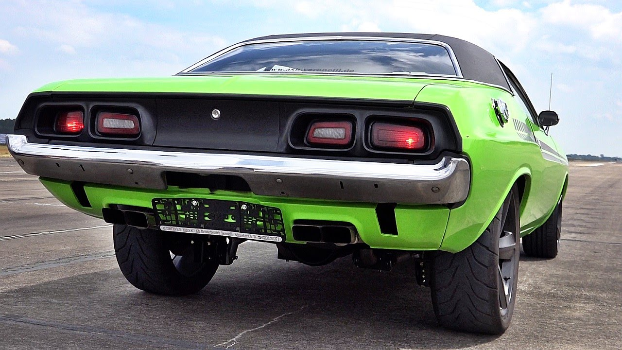 All Types challenger rt 0 60 : Dodge Challenger 426 Hemi V8 Acceleration 0-60 & Sound - YouTube