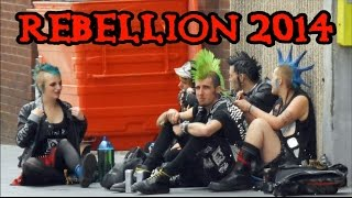 Rebellion 2014 - Blackpool Punk Festival