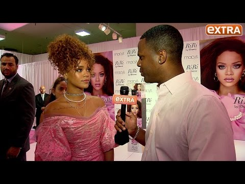 Rihanna Celebrates Her New RiRi Perfume, Calls Kanye's VMAs Speech 'Incredible'
