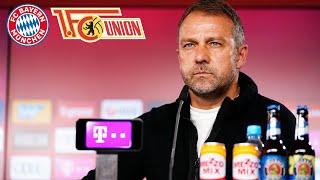 🎙️ Diese drei Spieler fallen aus | Pressetalk mit Hansi Flick | FC Bayern - Union Berlin