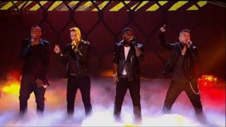 The Risk open our Halloween Live Show - The X Factor 2011 Live Show 4 (Full Version)