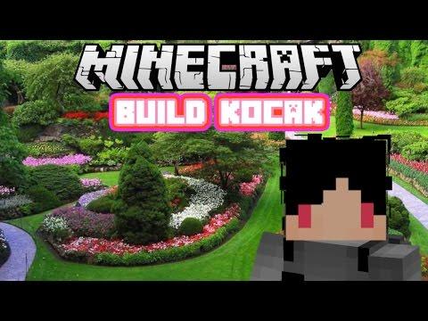 Minecraft Indonesia - Build Kocak (8) - Taman yang Indah!