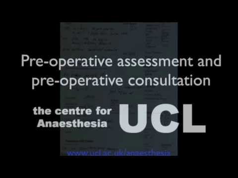 Anaesthetic pre-operative assessment and the pre-operative visit