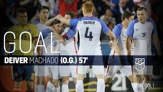 U-23 MNT vs. Colombia: Deiver Machado Own Goal - March 29, 2016