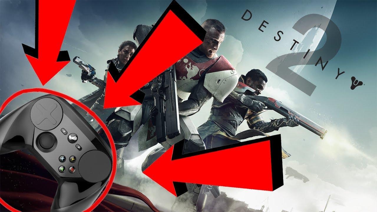 Destiny 2 Steam Controller Highlights