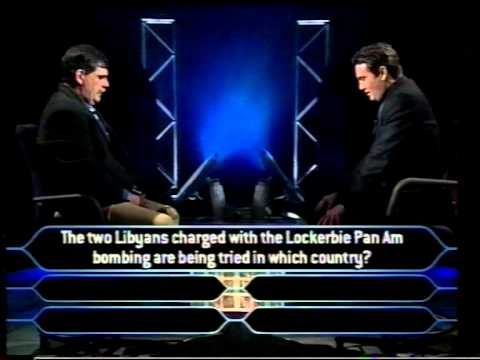Rick Bowman - Who wants to be a Millionaire