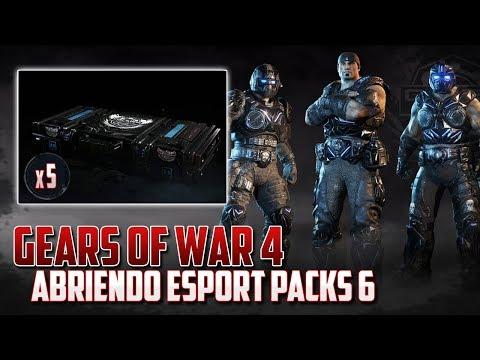Gears of War 4   Abriendo Esports Packs 6 - Personaje Garantizado!!