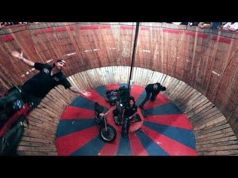 Daytona Biketoberfest 2017: Touring Iron Horse Saloon & Wall Of Death