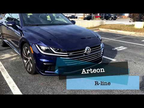 Leaked 2019 Arteon R line US Version