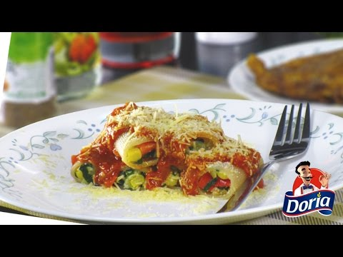 Guarguerones Doria Vegetarianos con Salsa de Tomates
