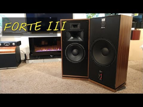 Z Review - Klipsch Forte III (Speakers So Big When You Die They Can Bury You In Them!)