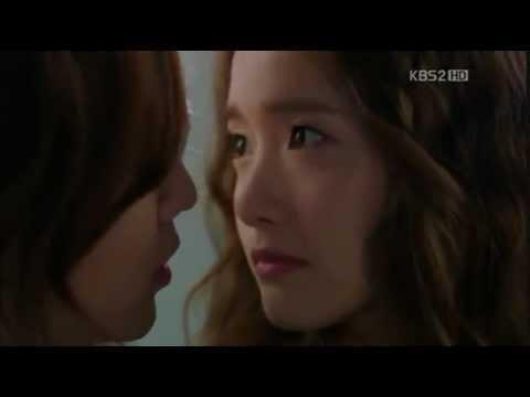 Yoona hôn Jang Geun Suk trong phim Love Rain.flv