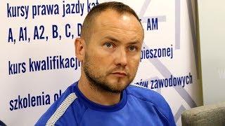Trener Mazura Gostynin Artur Kapela o meczu z Koroną Ostrołęka