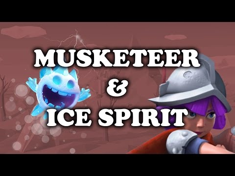Clash Royale   How To Use Musketeer + Ice Spirit   Synergy