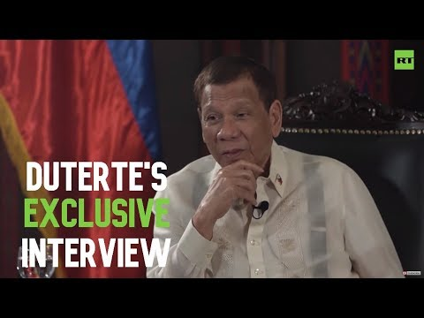 RT: 'It should be US who should learn the lesson from us' – Philippines' president Duterte (EXCLUSIVE)
