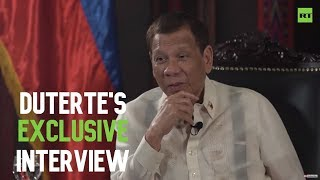 [EXCLUSIVE] 'It should be US who should learn the lesson from us' - Philippines' president Duterte