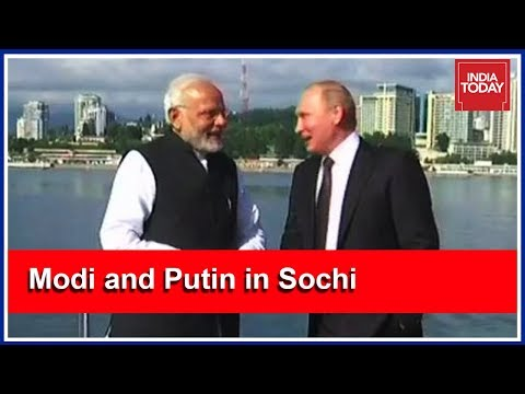 PM Modi Meets Putin In Sochi, Discuss Global Issues | India First