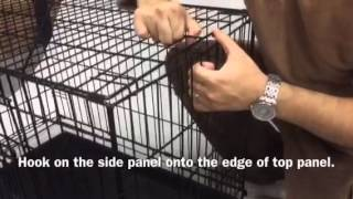 Setup Instructions For Vebo Collapsible Wire Crate